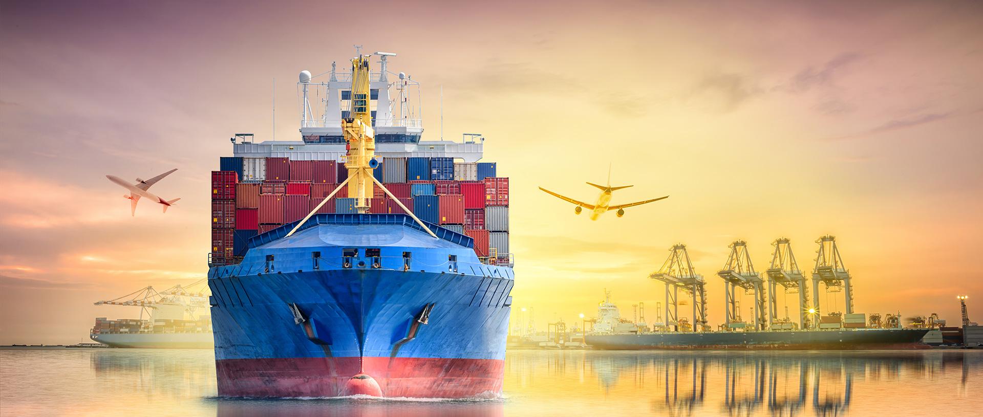 Agenciamento de cargas maritimas e aereas